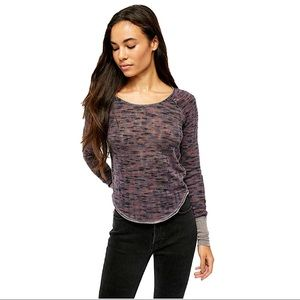 """NWT-Free People """"Spaced Out"""" Long Sleeve Thermal"""
